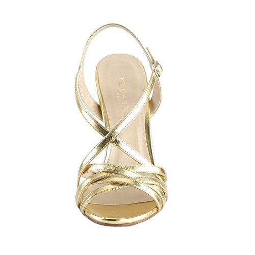13 Mat Gold Damen Pleaser Pu AMUSE 0pxWvZwq6