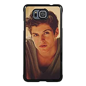 Teen Wolf Boys - Daniel Sharman Black Unique Abstract Custom Samsung Galaxy Alpha Case
