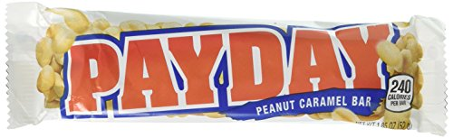 Caramello Bar - PAYDAY Peanut Caramel Bar (1.85Ounce Bars, Pack of 24)