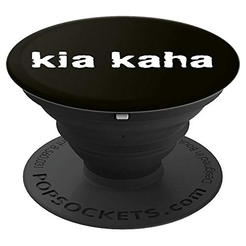 kia kaha (means be strong in Maori) pop socket - PopSockets Grip and Stand for Phones and Tablets (All The Best In Maori)