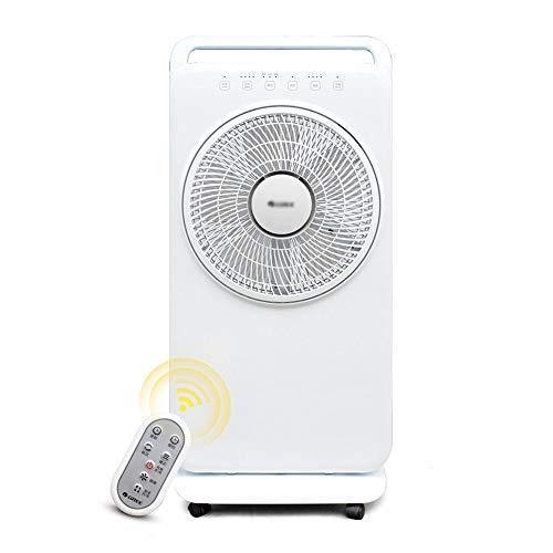YXQ- Portable air Conditioner - atomized humidification, Mosquito Repellent, air Conditioning Companion, Home Dorm Remote Control Timing Spray humidification Floor Turn Page Atomization Fan - 38.5X84