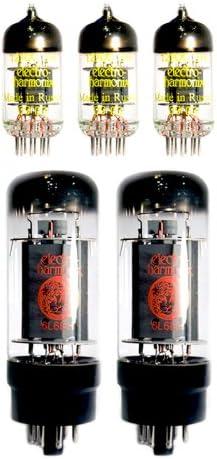 Rock de COV (EH Re Válvula Kit) para Fender Hot Rod Deluxe y Deville amplificadores que uso dos 6L6 GC y tres ECC83 12 ax7 tubos: Amazon.es: Instrumentos musicales