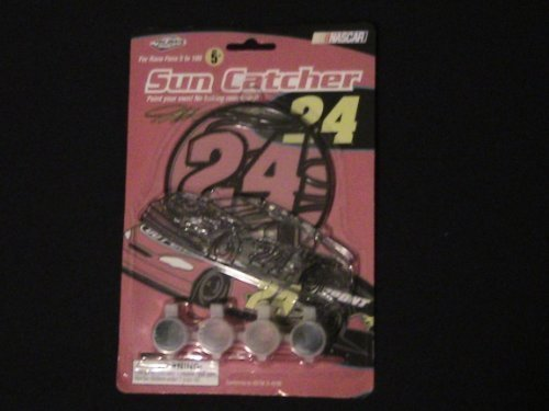 Jeff Gordon Sun Catcher Set -NASCAR Collectible
