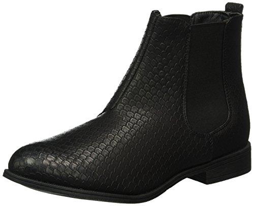 Hailys Be Janet, Zapatillas de Estar por Casa para Mujer Braun (Black Structure)