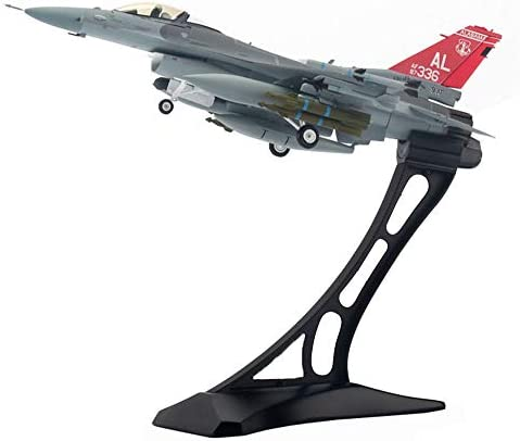 1/72スケール戦闘機モデル、軍事F-16CファルコンUSAF ANG合金モデル、アダルトグッズやギフト、12.2Inch X