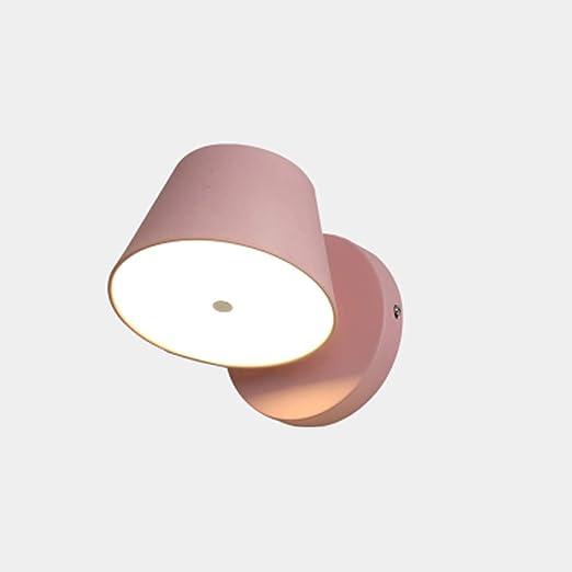 LED lámpara de pared de metal moderno tocadiscos serie macaron ...