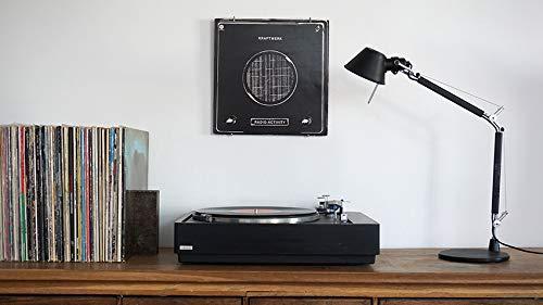 Vinyl Waller Geschenkidee Musik – Bilderrahmen Schallplatten 33 Umdrehungen Umdrehungen Umdrehungen – Wanddekoration für Musiker – Dekoration für Schlafzimmer oder Wohnzimmer mit Schallplatten 41724d