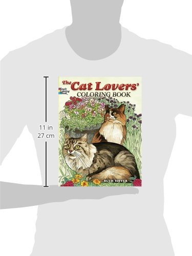 The Cat Lovers Coloring Book Dover Nature Amazoncouk Ruth Soffer 9780486462004 Books