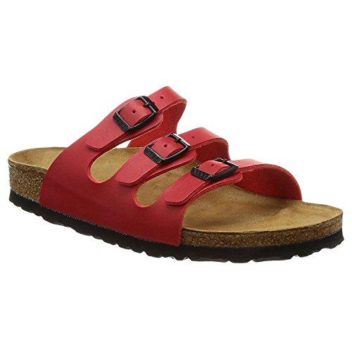 Birkenstock Womens Florida Cherry Synthetic Sandals 41 EU
