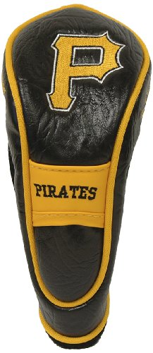 - Team Golf MLB Pittsburgh Pirates Hybrid Golf Club Headcover, Velcro Closure, Velour lined for Extra Club Protection