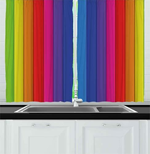 bright kitchen curtains - 9