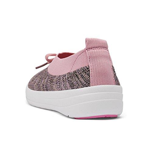Zapatillas Para Malla de Rosa Mujer XMeden Hnd81xT1