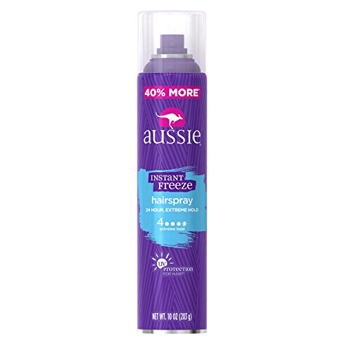 Aussie Instant Freeze Aerosol Hairspray, 10 oz