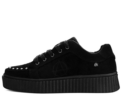 Creeper Simili Shoes T Cloutés suède Casbah Anarchique Noir u De Femmes k Hommes x66w1PqZ