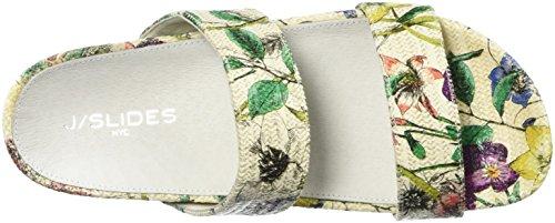 Damen Fuchsia White J Edie Slides Sandal zBq5wFa
