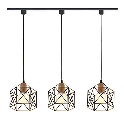 Amazon.com: ANYE Juego de 3 lámparas de araña para H-Type ...