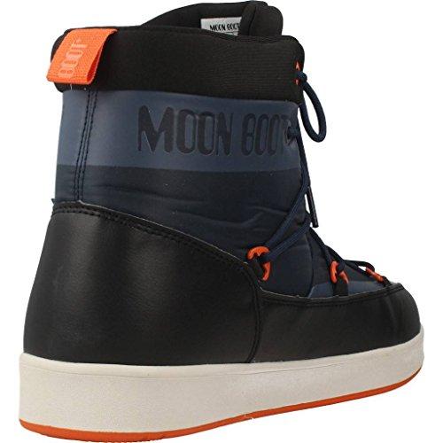 Bue Stivali Neil Blu Boot Nero da WP Donna Neve Moon Arancio t805wqz