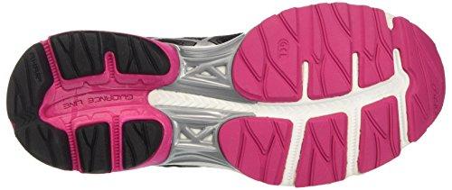 Asics Zapatillas Para Pink sport Negro pulse silver Gel black 8 Mujer rrwU1tq