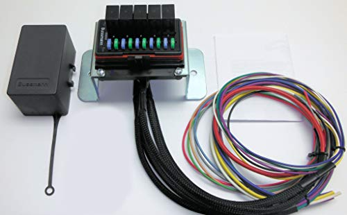 Concours Specialties Universal Waterproof Fuse Relay Box Panel Cooper Bussmann ATV UTV RV Boat 4X4 from Concours Specialties