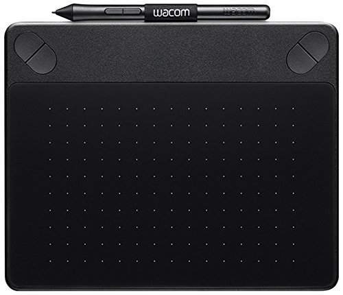 Wacom CTH-490PK-S Intuos Photo Stift-Tablett (Touch S inklusive Softwaredownload von Macphun Pro Package, Corel AfterShot Pro 2 (PC/MAC), Paintshop Pro X8 (PC)) schwarz