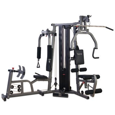 Galena Pro Home Gym Leg Press: Included, Stack Guard: Included BodyCraft