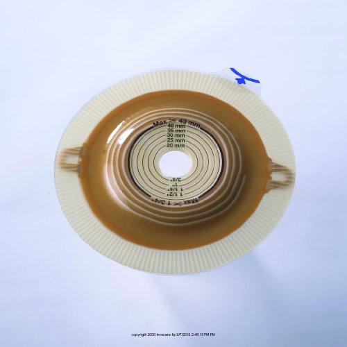 (Assura AC Convex Light Standard Wear Two-Piece Skin Barriers With Belt Tabs [ASSURA AC CNVX LT BASE 35MM] (BX-5))