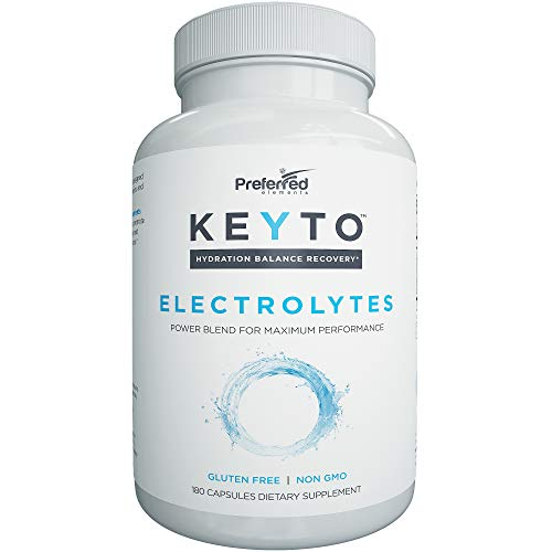 Keyto Electrolyte Supplement Potassium Electrolytes