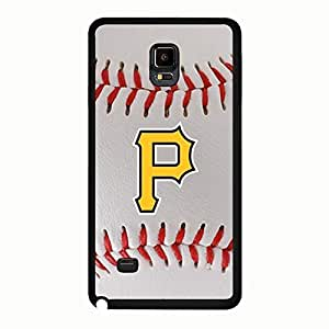 Style081 Classic Series Pittsburgh Pirates Graphic Baseball Team Sign Back Case Cover for Samsung Galaxy Note 4