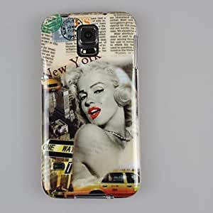 LHY Samsung S5 I9600 compatible Graphic TPU Back Cover