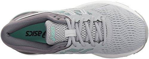 white opal d Gel Chaussures flux 5 Green Femmes Grey Asics Pour Mid vwqz6x6UI