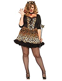 Leg Avenue Women's Plus-Size Wildcat