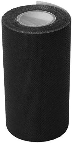 B Blesiya Klebeband Kunstrasen Selbstklebend Nahtklebeband - Schwarz 150 mm x 5 m