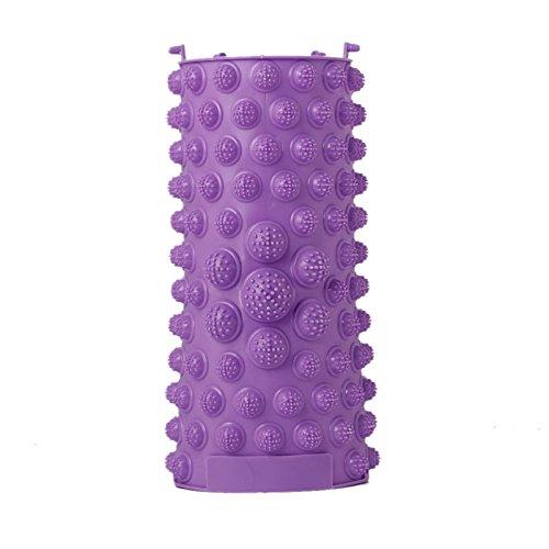 Tangc Reflexology Foot Massage Pad Toe Pressure Plate Mat Blood Circulation Shiatsu (purple)