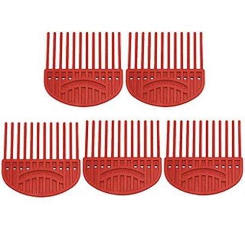 Karen Marie Quilling Comb red Big Pack 5 Pieces by Karen Marie Klip Papirmuseets By A/S