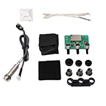Mxfans 0.9x0.82x0.74Inch Sound Hole Piezo EQ Pickup for Acoustic Guitar