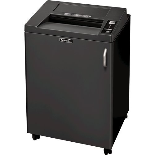 Fellowes Quiet Fortishred 3850C Continuous-Duty Cross-Cut Shredder, TAA Compliant (4617801) by Fellowes