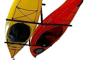 Charming 2 Kayak Adjustable Ceiling Storage Rack | Hi Port 2 Mount | StoreYourBoard