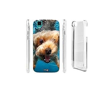 caselabdesigns Hard Back Case Cover perro Nel Mare para Wiko Fizz–Cuerpo en material duro protección