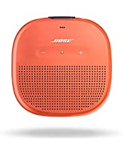 Bose SoundLink Micro, Portable Outdoor Waterproof Speaker with Wireless Bluetooth Connectivity- Bright Orange