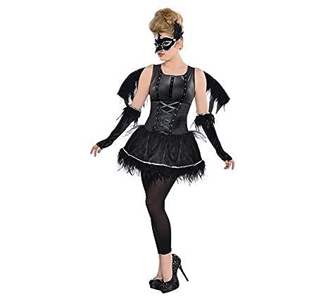 Disfraz Cuervo tutú para niñas y adolescentes en varias tallas Halloween: Amazon.es: Juguetes y juegos