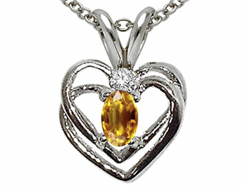 3 Mm Citrine Heart - 6