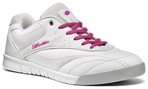 Lotto - Zapatillas de Material Sintético para mujer Bianco