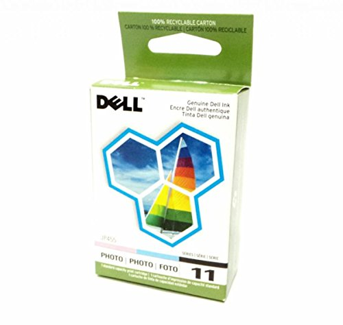 Genuine Dell JP455 Photo Ink Cartridge Series 11 for Printer Model 948, V505 and V505w (Dell V505w)