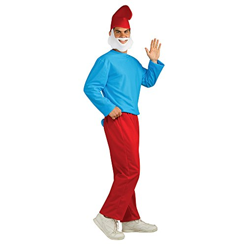 Rubie's Costume Co Papa Smurf Adult Costume, Smurfs: The Lost Village, X-Large -
