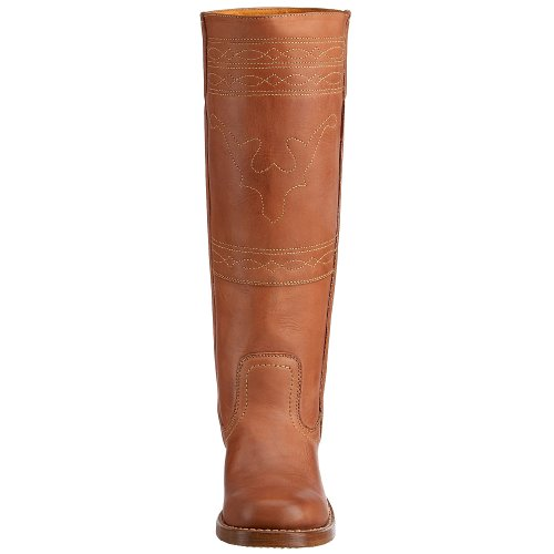 Frye Womens Campus Stitching Horse Boot Saddle In Pelle Montana