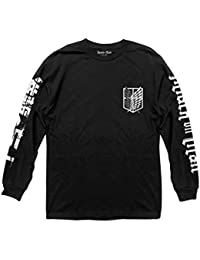 Attack on Titan Scout Shield Long Sleeve Crew neck Shirt