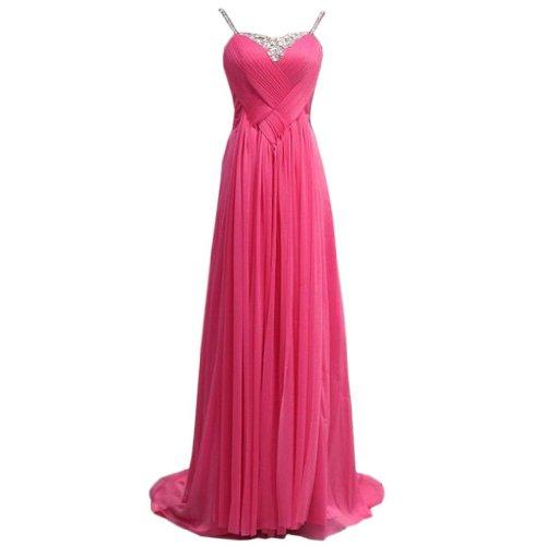 Eyekepper - Vestido de novia - Noche - Sin mangas - Mujer Rosa Roja