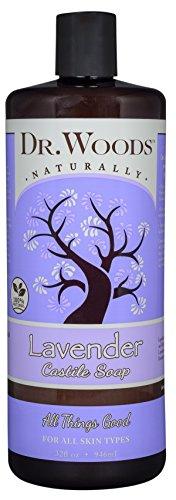 Dr. Woods Pure Castile Soap - Lavender - 32 (Dr Woods Pure Almond Castile Soap)