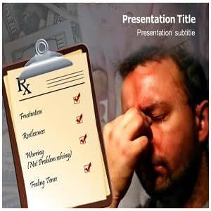 Stress Powerpoint Presentation Template | Psychological Powerpoint Templates | Powerpoint Slides on Stress | Stress Powerpoint Theme