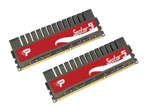 Patriot Sector 5 DDR3 4 GB  (2 x 2 GB) PC3-16000 2000MHz 9-11-9-27 Enhanced Latency Dual Channel Kit PGV34G2000ELK